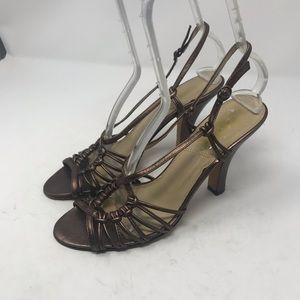 Tahari strappy slingback heels size 9M.